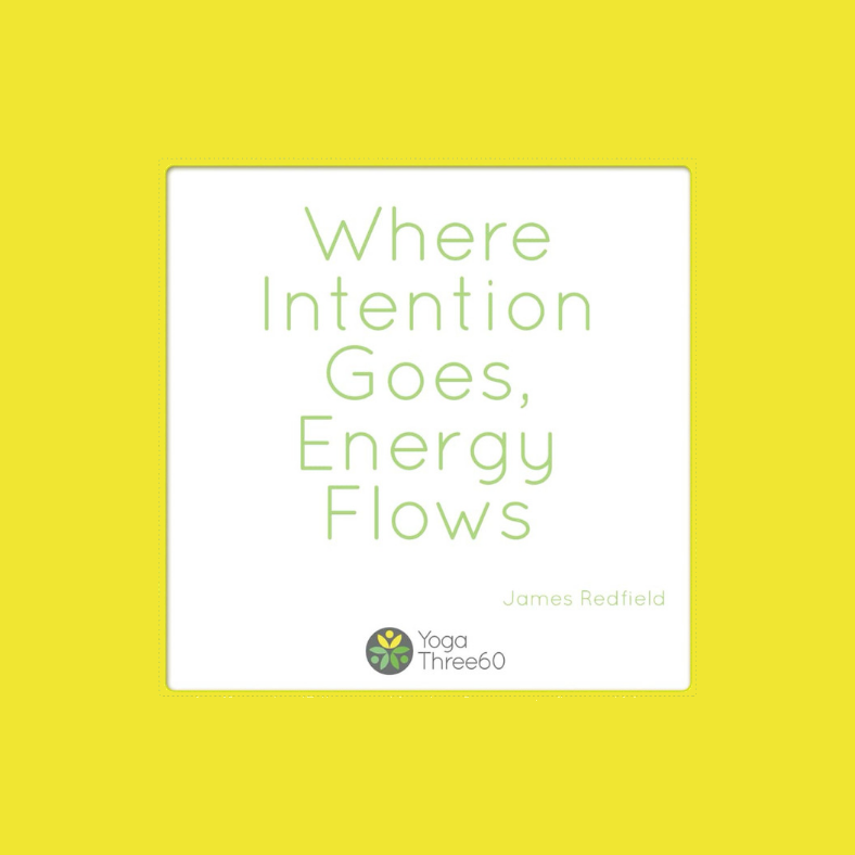 January 2019: What Is Your Intention?
