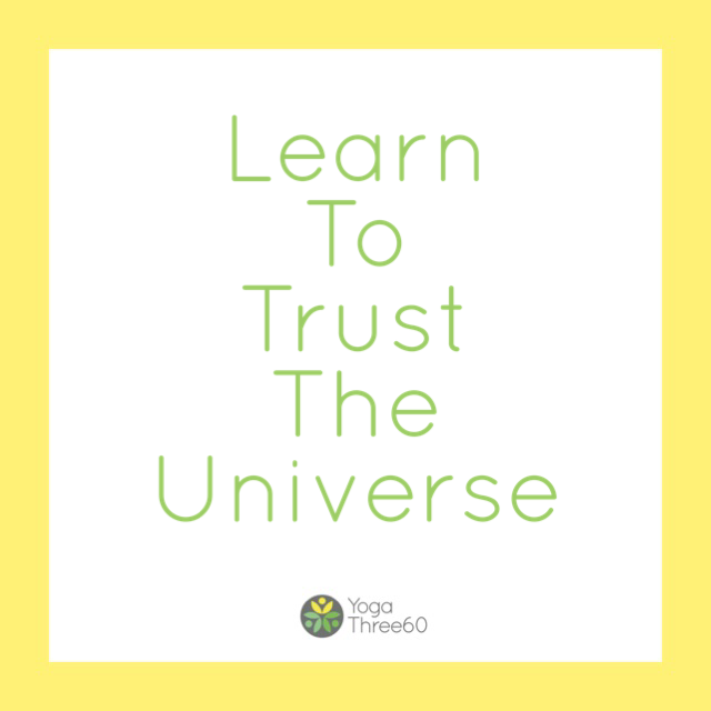 August: Learning To Trust The Universe