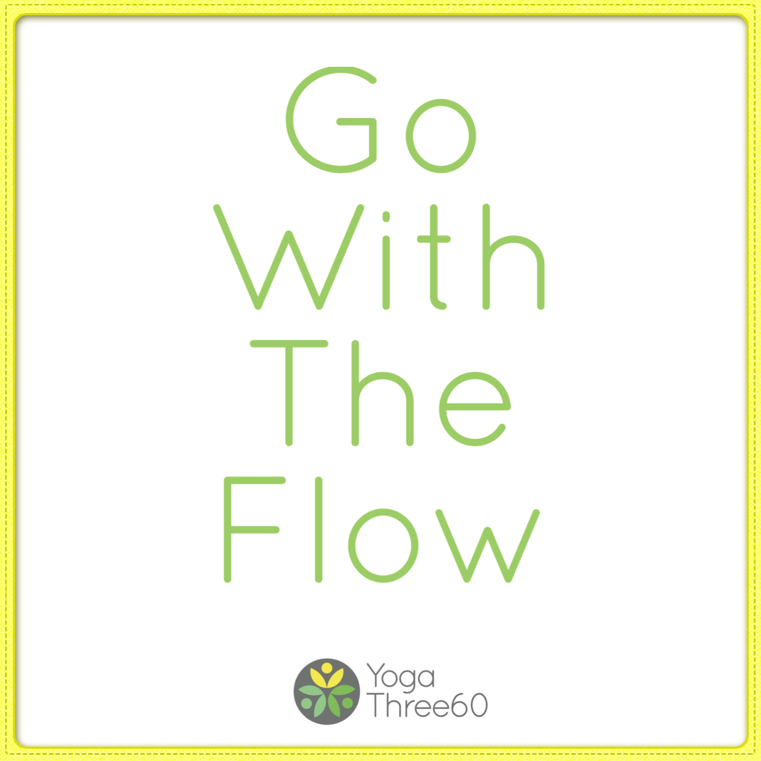 March 2019: Go With The Flow