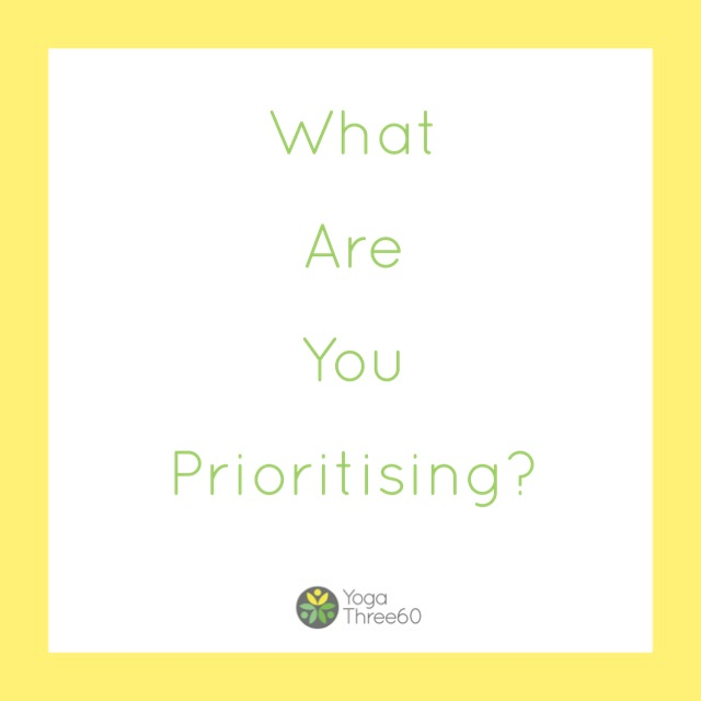 July: What Are You Prioritising?