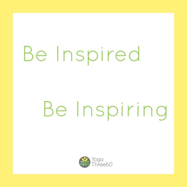 November: Be Inspired.  Be Inspiring.