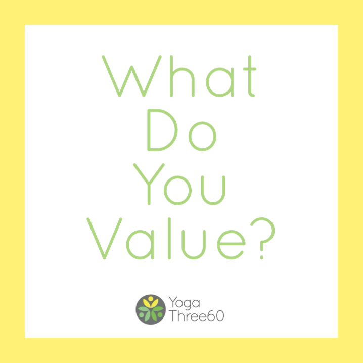 January: What Do You Value?