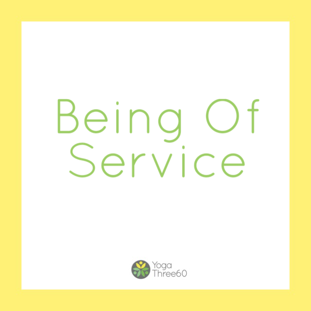 September: Being Of Service